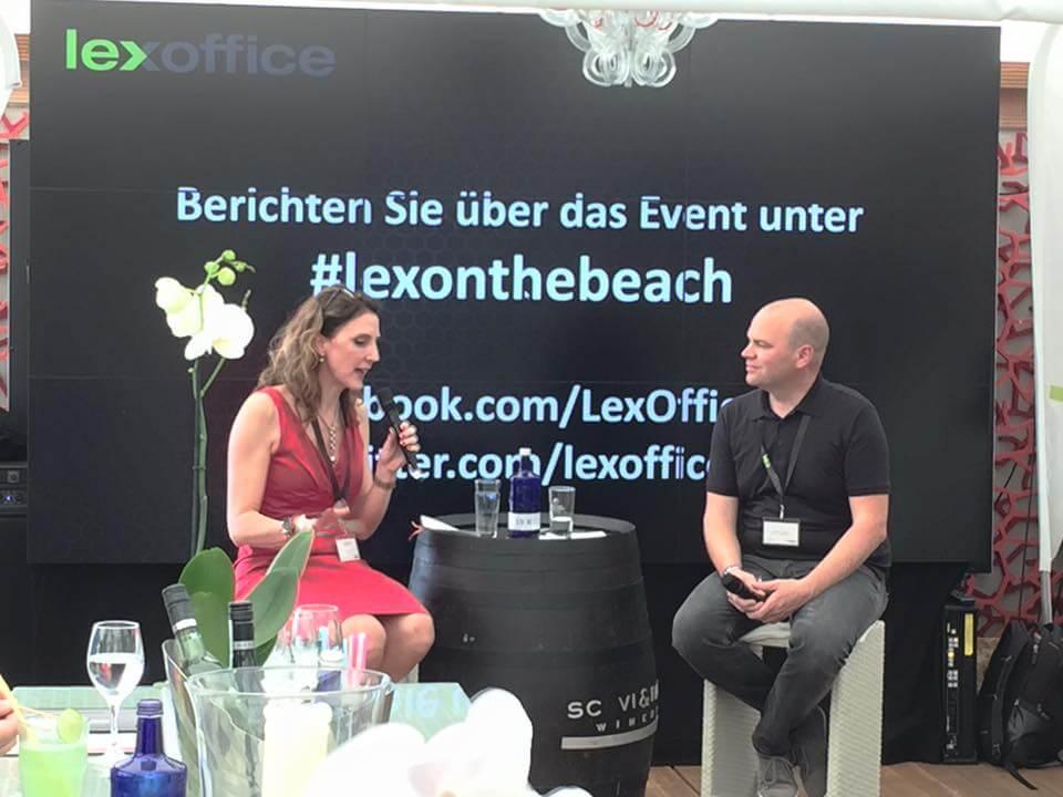 Digitale Nomaden und ihr Lifestyle waren Thema des erfolgreichen lexonthebeach Events in Hamburg am 23. Juni 2016