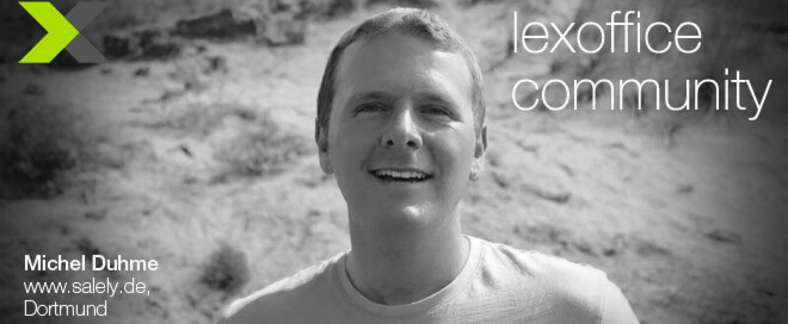 lexoffice-Anwender im Interview - Michel Duhme