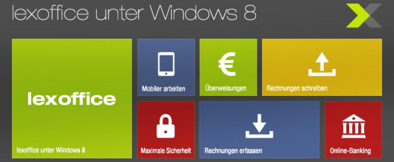 lexoffice unter Windows 8