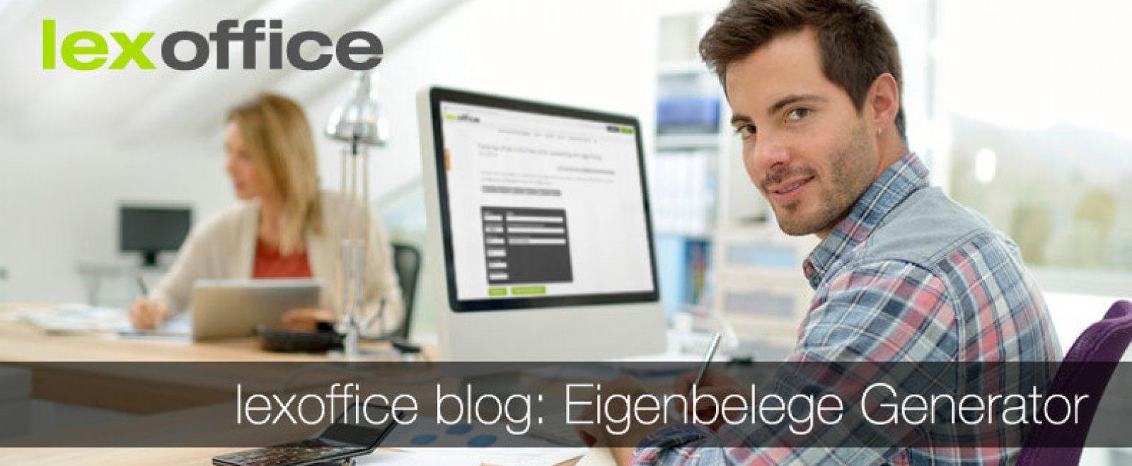 Kostenlos im Service-Bereich: lexoffice Eigenbeleg-Generator