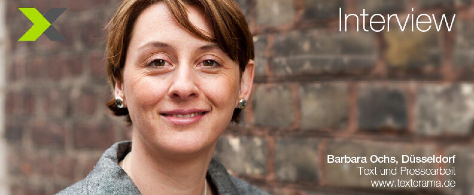 Interview mit Barbara Ochs, Texterin aus Düsseldorf