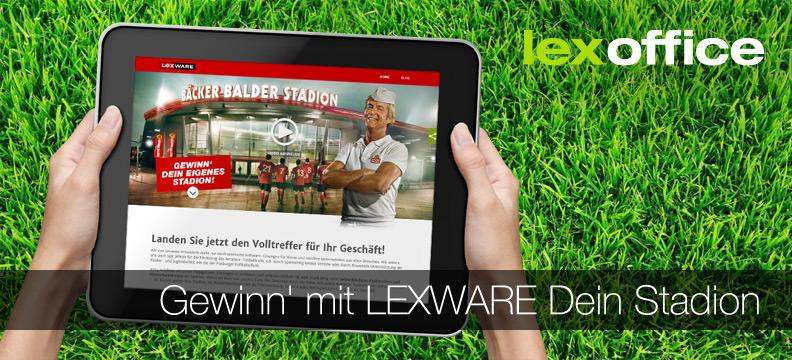 Gewinn' mit Lexware Dein Stadion