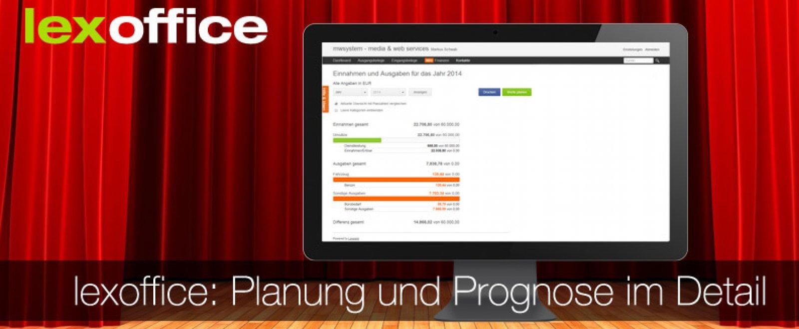 Auftrag & Finanzen: Planung und Prognose