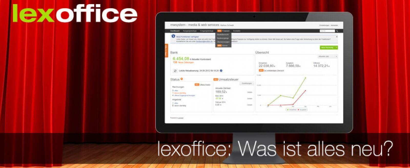 lexoffice Auftrag & Finanzen ist da!