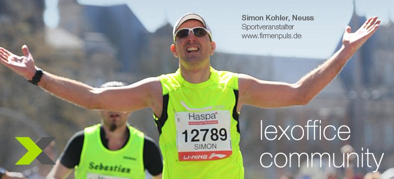 lexoffice User-Interview (11) Simon Kohler aus Neuss