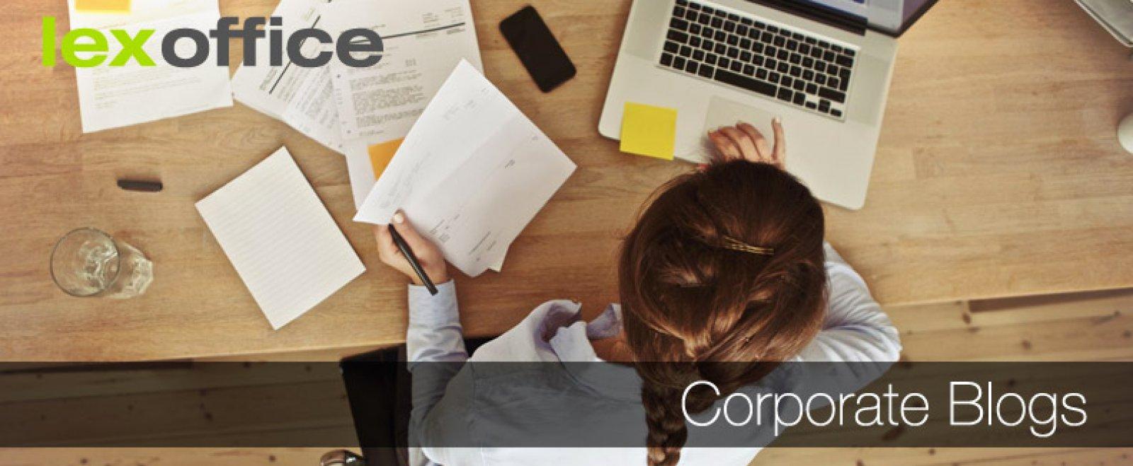 Corporate Blogs für Selbständige und Startups