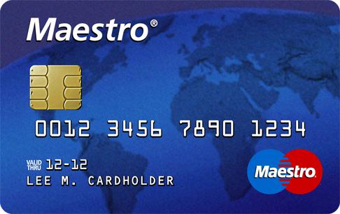 Maestro-Karte