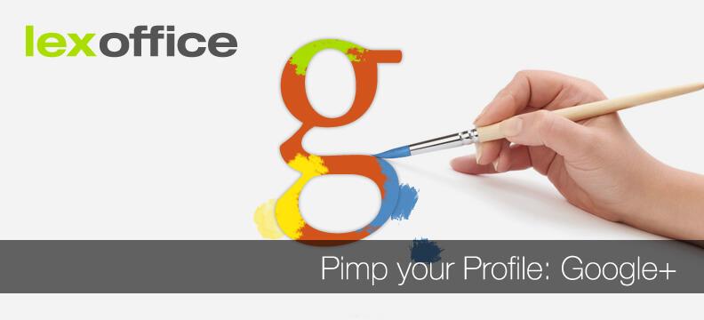 Online-Marketing: Pimp your Profile - Google+