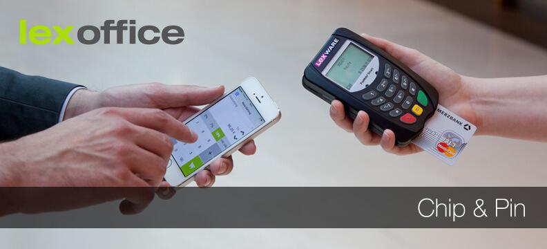 Chip & Pin: Lexware pay jetzt auch mit Bluetooth Kartenlesegerät