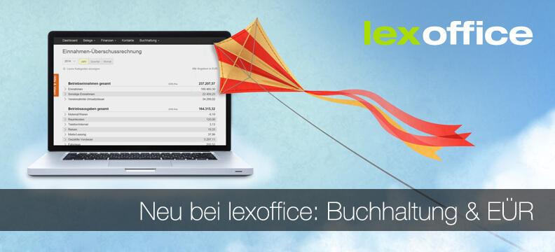 Neu in lexoffice: EÜR, Abschreibungen und smartsteuer-Schnittstelle