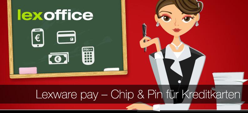 Chip & Pin für Kreditkarten