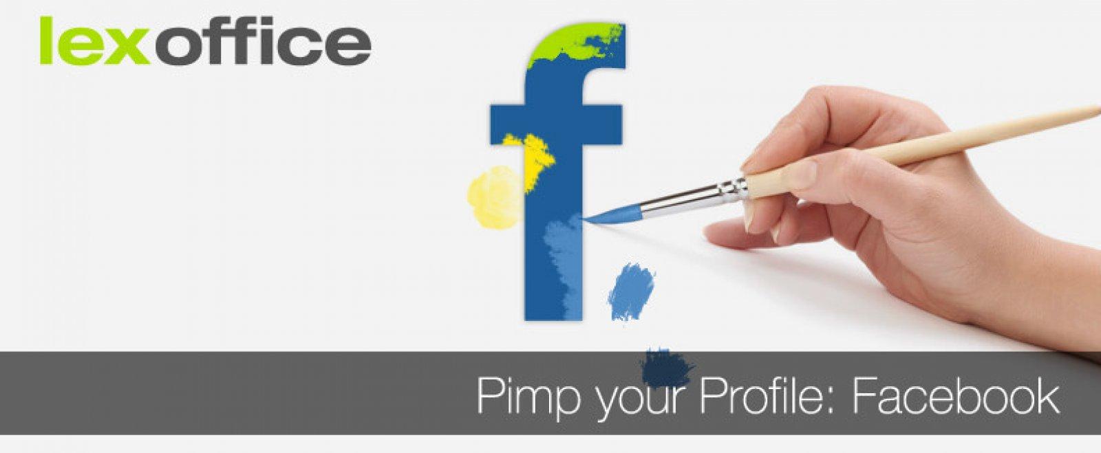 Pimp your Profile: Die eigene Facebook-Seite