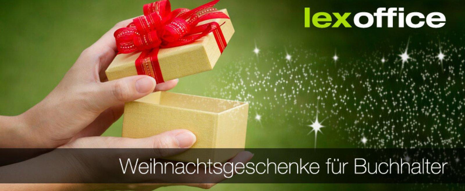 Weihnachtsgeschenke für Buchhalter