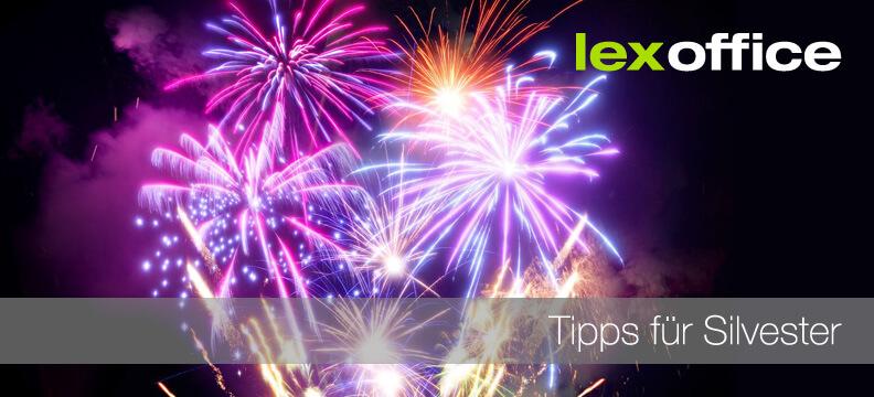 Einen guten Start ins neue Jahr wünscht das lexoffice-Team
