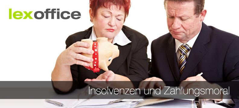 Insolvenzen und Zahlungsmoral