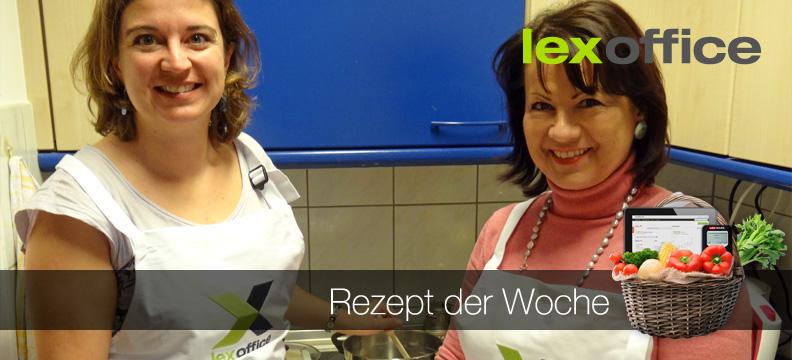 Rezept der Woche: Elke von Harsdorf und Friederike Floth von PR von Harsdorf aus dem lexoffice-Team