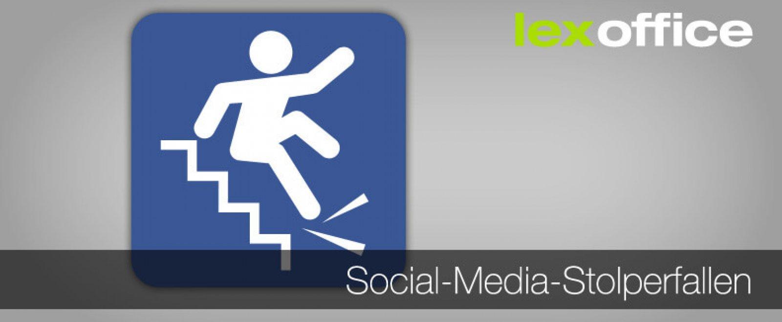 Typische Social-Media-Stolperfallen