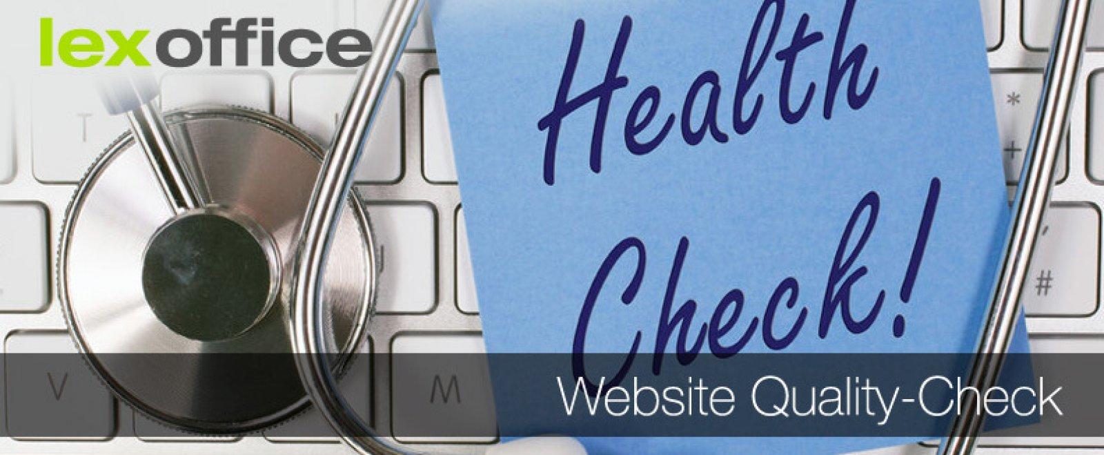 Quality Check für deine Website