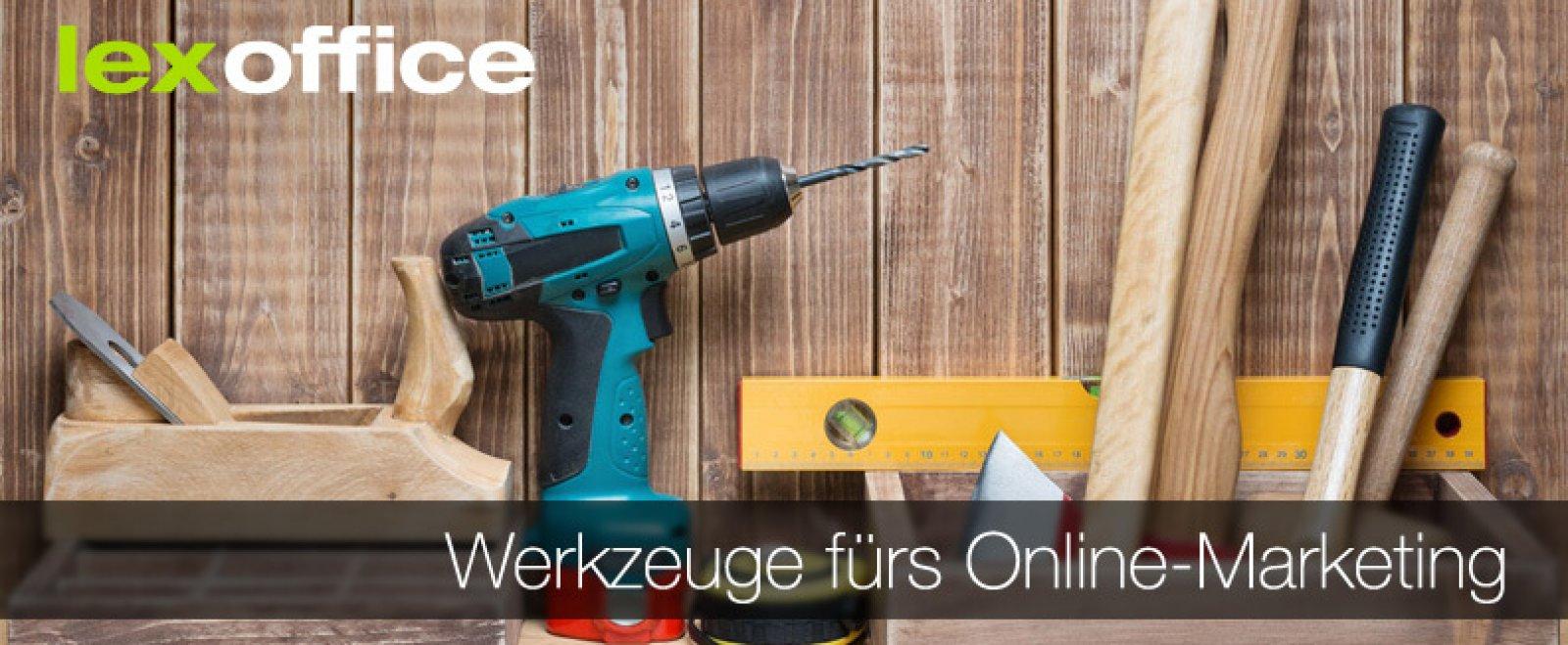 Werkzeuge fürs Online-Marketing