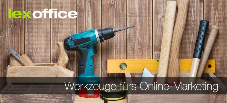 Werkzeuge fürs Online-Marketing - Tipps im lexoffice-Blog