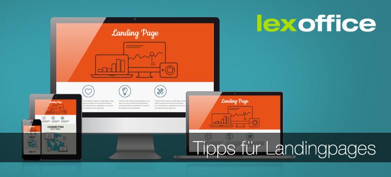 Top Tipps für Landingpages