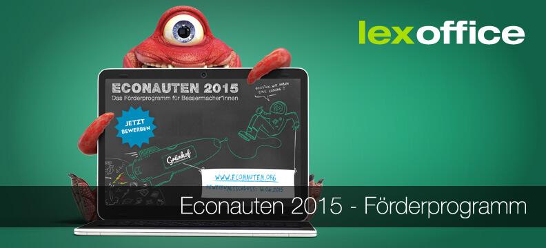 Bewerbungsphase für das Econauten Programm dauert bis Dienstag, 16.06.2015