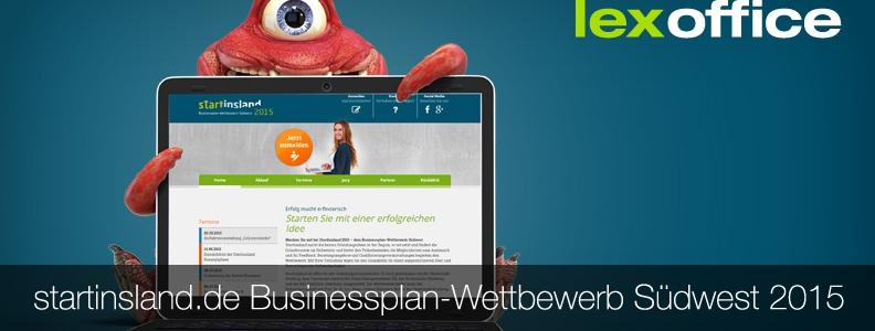 Startinsland Businessplan Wettbewerb S 252 Dwest 2015