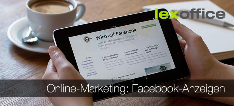 Online-Marketing für Einsteiger: Facebook-Anzeigen