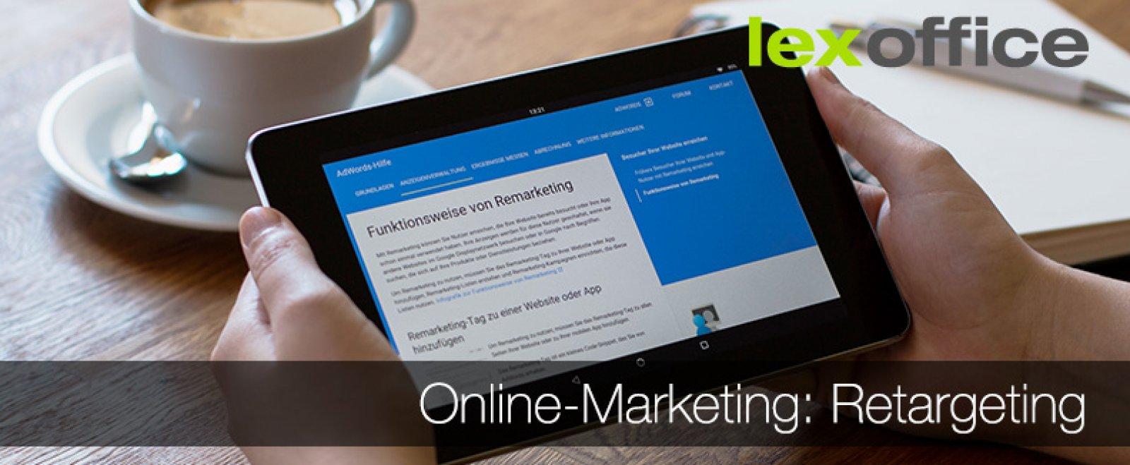 Online-Marketing für Einsteiger: Retargeting