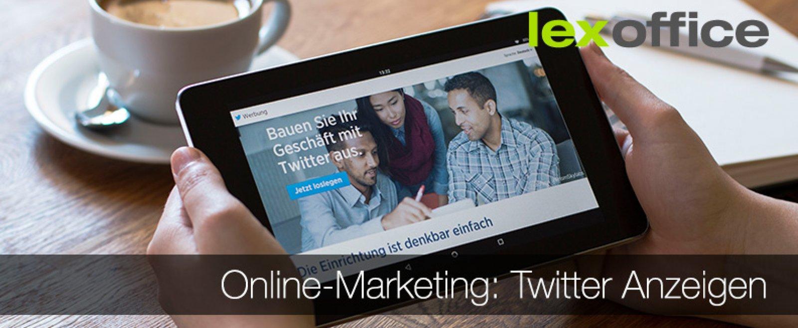 Online-Marketing für Einsteiger: Twitter-Anzeigen