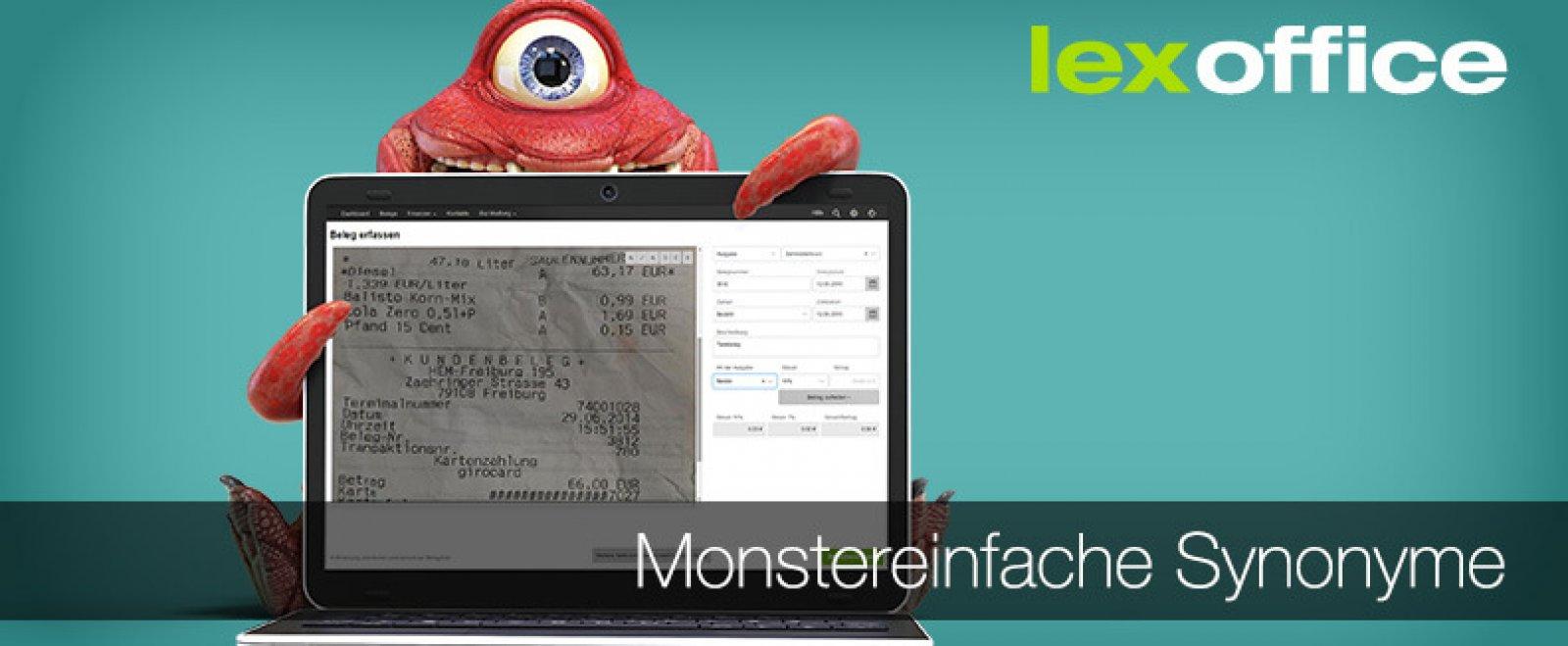 Lexoffice Release Monstereinfache Synonyme Bei Lexoffice