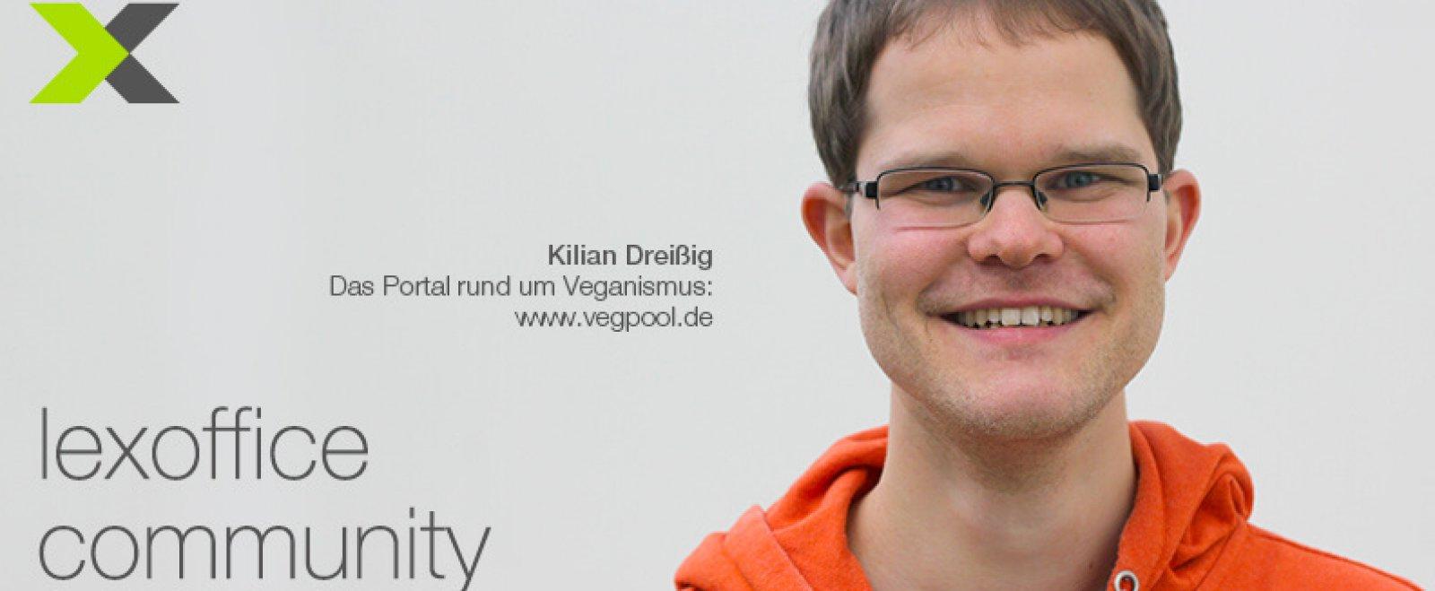 lexoffice Community: User-Interview (22) Kilian Dreißig von vegpool.de