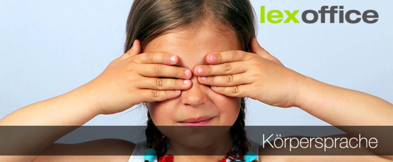 """""""Sieh mir in die Augen, Kleines"""" - Körpersprache und wie sie sein sollte"""