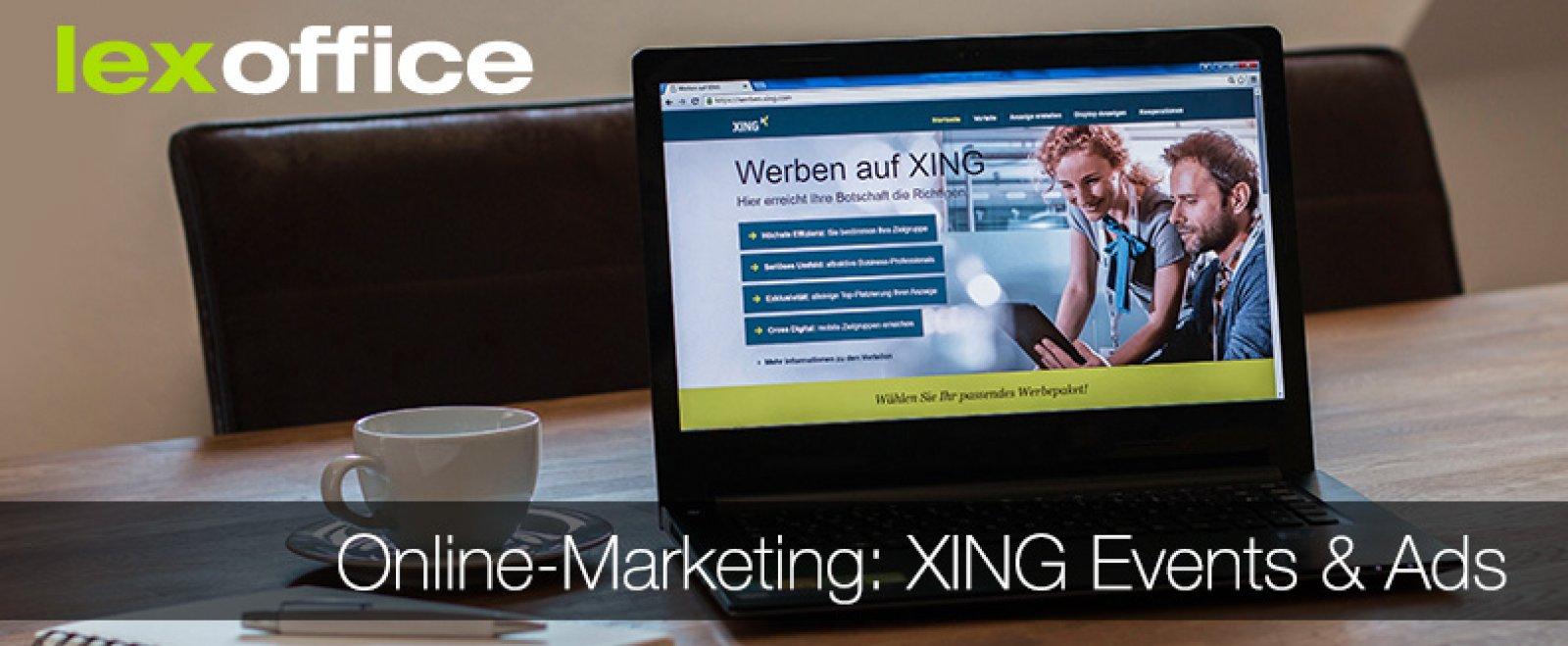 Online-Marketing für Einsteiger: Werbung auf XING (1)