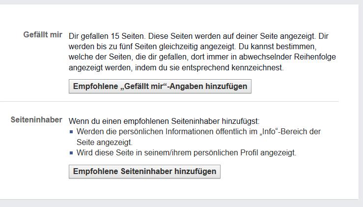 Feinheiten der Facebook-Fanpageverwaltung