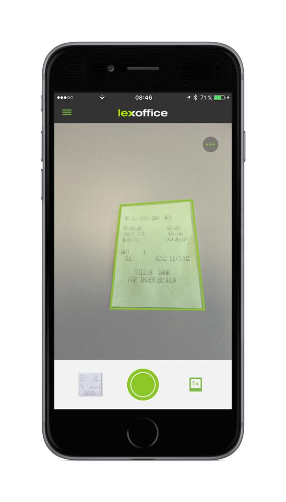 lexoffice Scan App - neu und verbessert