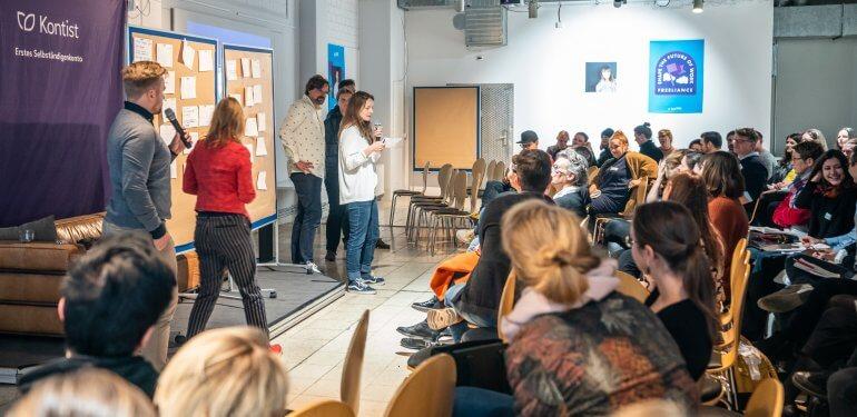 lexoffice Impressionen vom Selbstständigentag in Berlin 2018