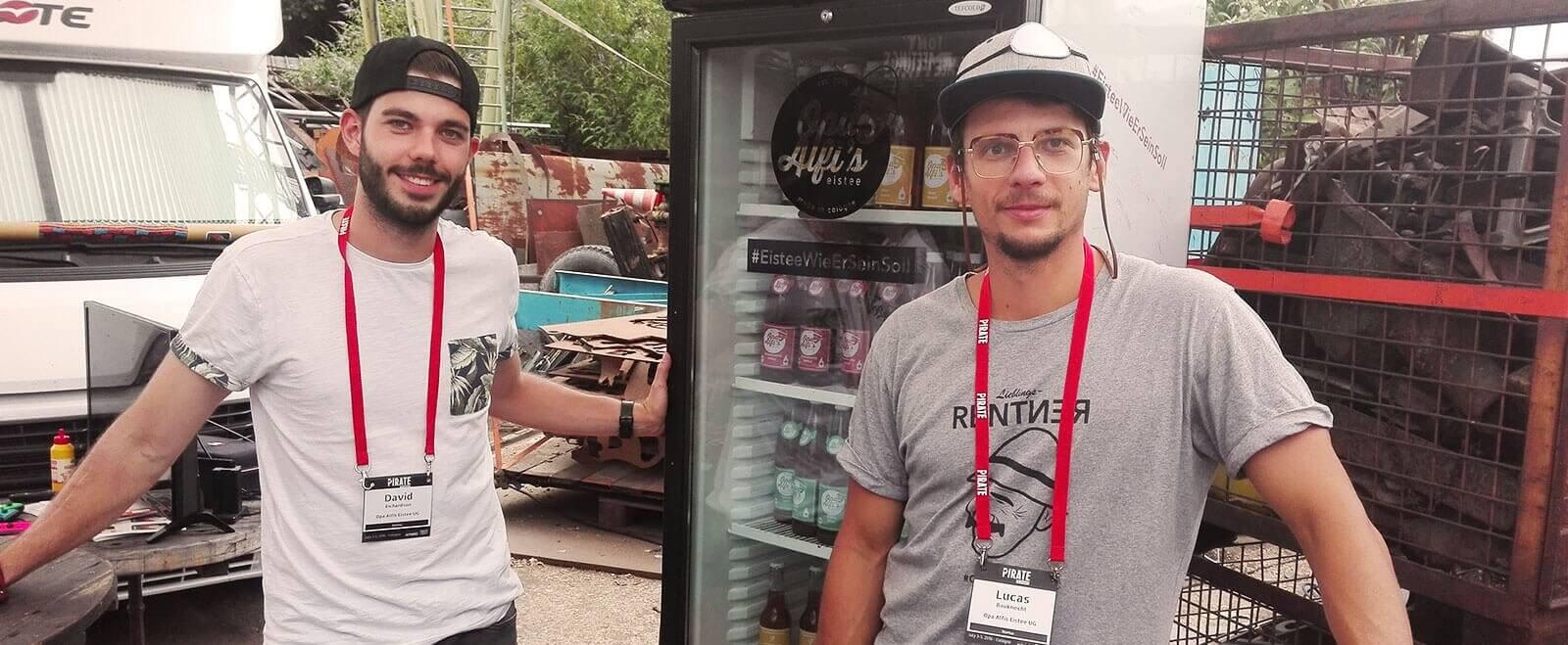 lexoffice Community Interview: Lucas Bauknecht von Opa Alfi's, dem Eistee aus Köln