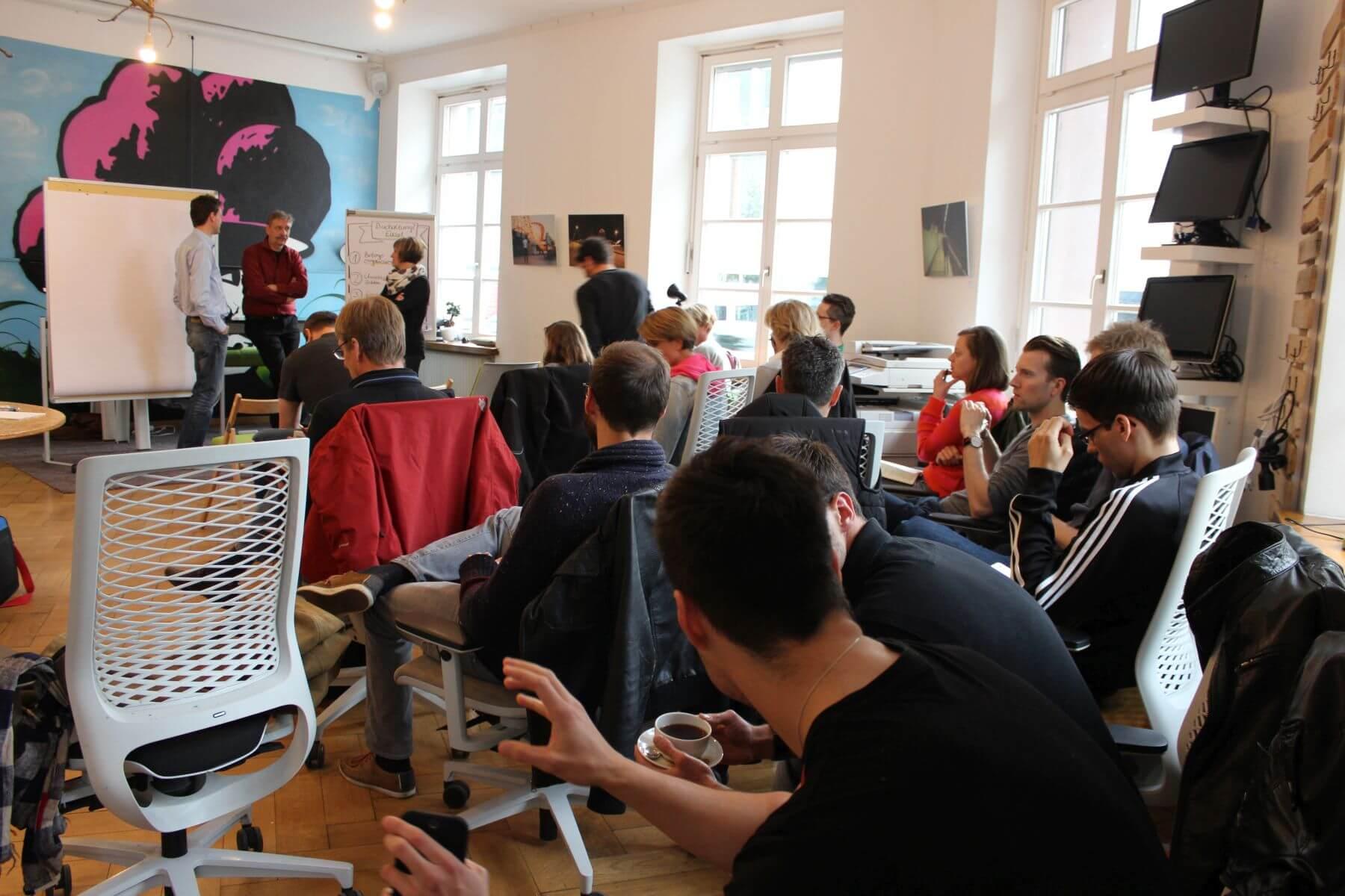 Community Event Buchhaltung lexoffice und Grünhof Mai 2016