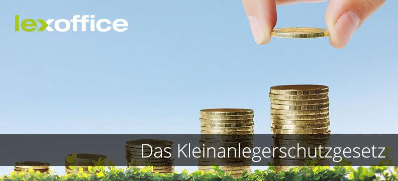 Das Kleinanlegerschutzgesetz oder warum Crowdfunding nicht in unbegrenzter Höhe möglich ist