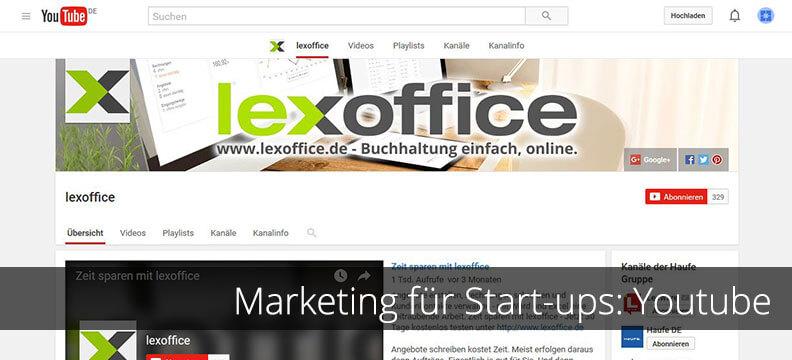 Marketing-Tipps für Start-ups: YouTube