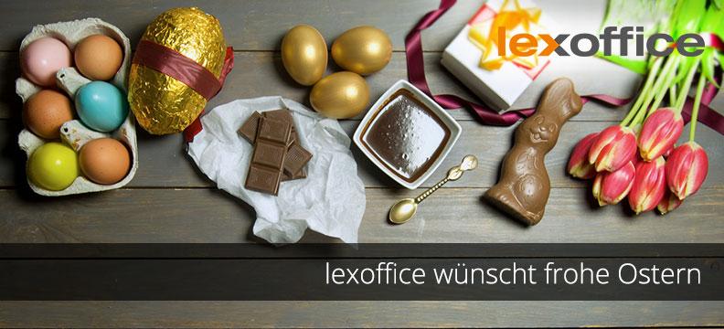 Frohe Ostern wünscht allen Anwendern das lexoffice Team :-)