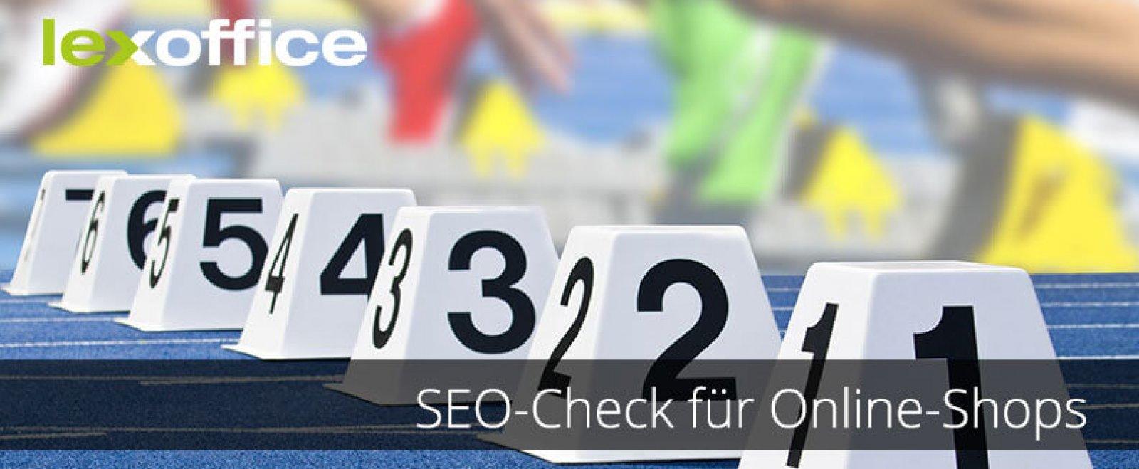 SEO-Check für Online-Shops