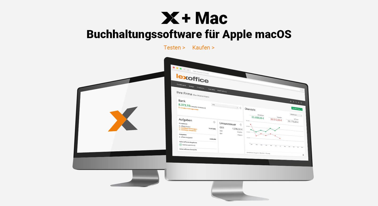 Buchhaltungssoftware Für Apple Mac Lexoffice Vom Marktführer Lexware