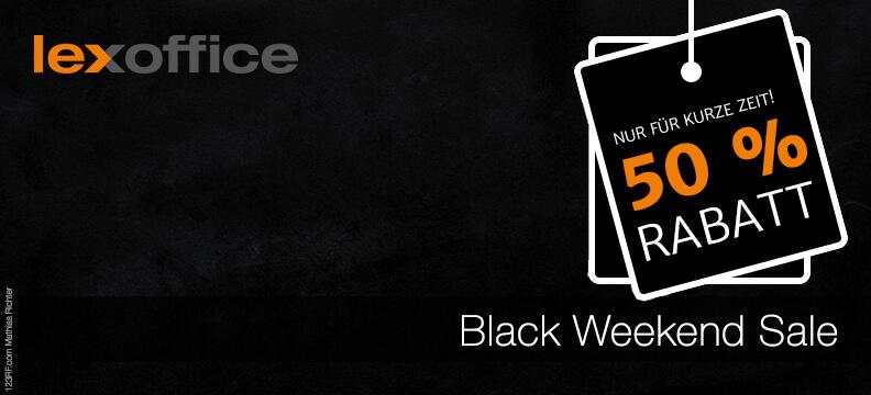 Black Weekend Sale bei lexoffice - Top Deals läuten das Weihnachtsgeschäft ein