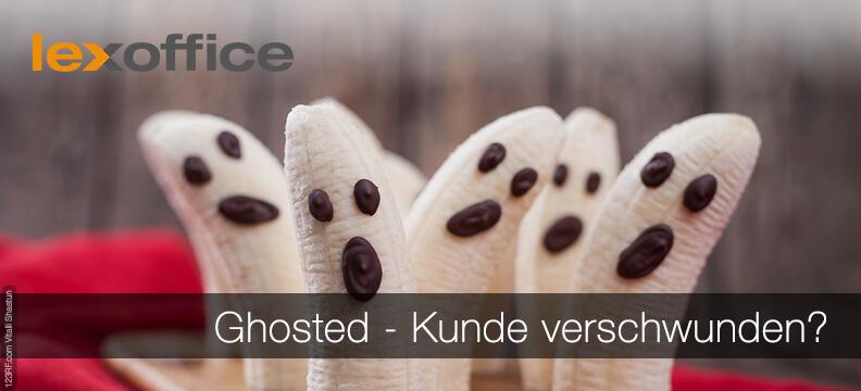 Ghosted: Kunde verschwunden - Tipps im Blog der Online Buchhaltungslösung lexoffice