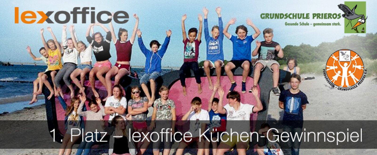Grundschule Prieros - 1. Platz beim lexoffice Küchen-Gewinnspiel