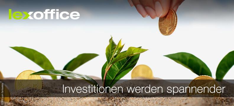 Investitionen sollen rückwirkend steuerlich spannender werden