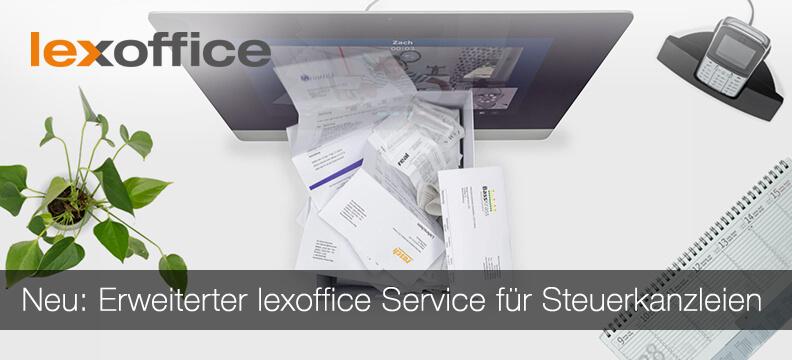Neu: Erweiterter lexoffice Service für Steuerkanzleien