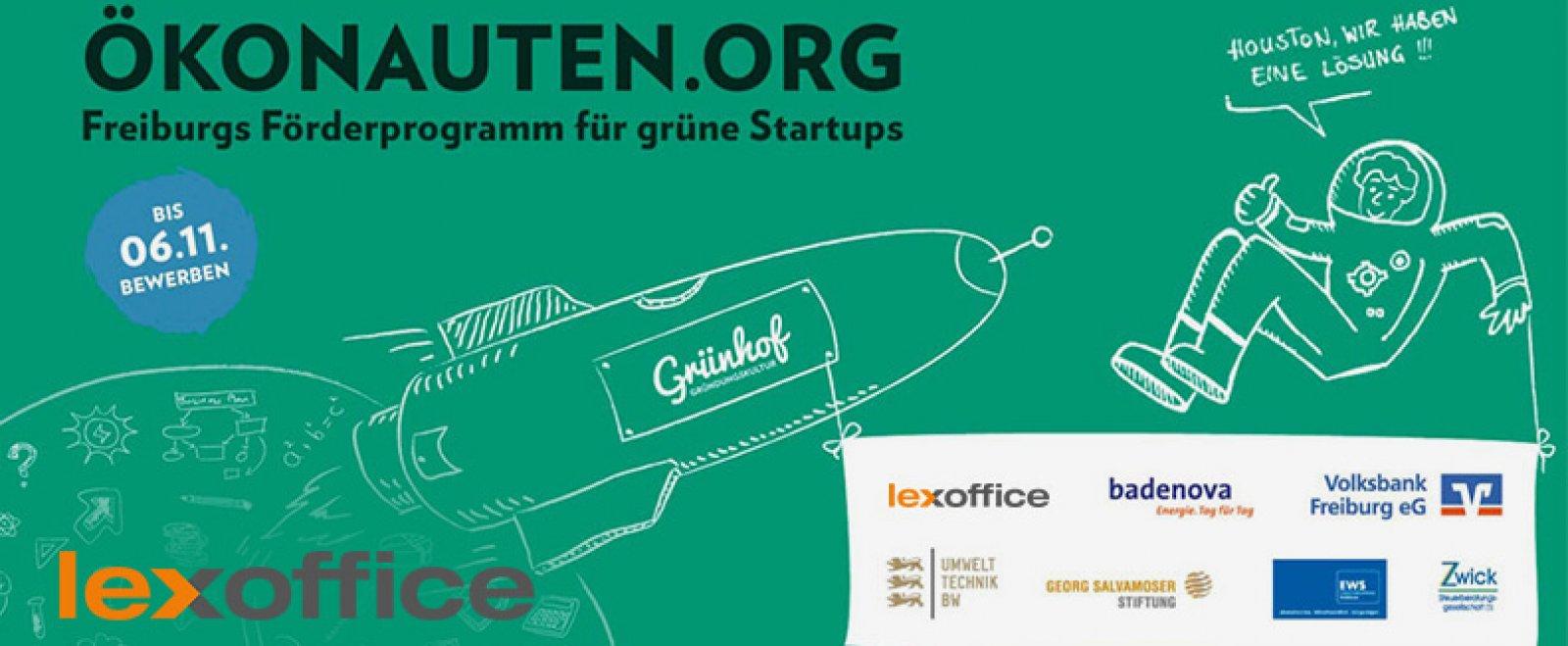 lexoffice ist Partner des Ökonauten Förderprogramms für Start-ups